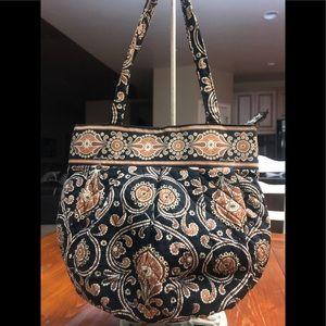 Vera Bradley zip bucket bag